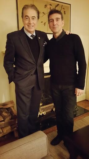 Bruce Lipnick and Julio Bocca